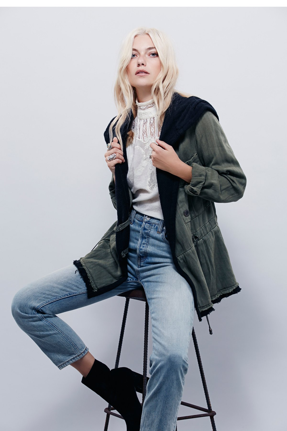 Soft Peplum Jacket
