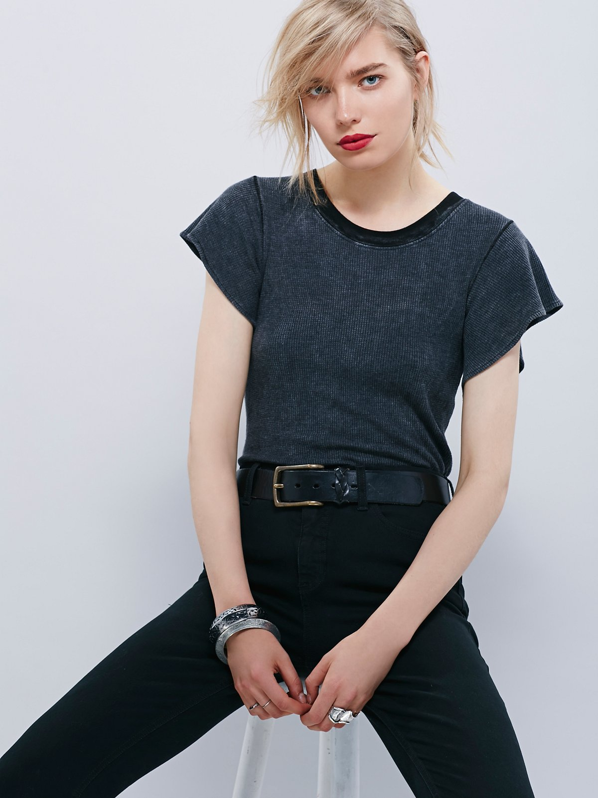 We The Free Flutter Sleeve Tee
