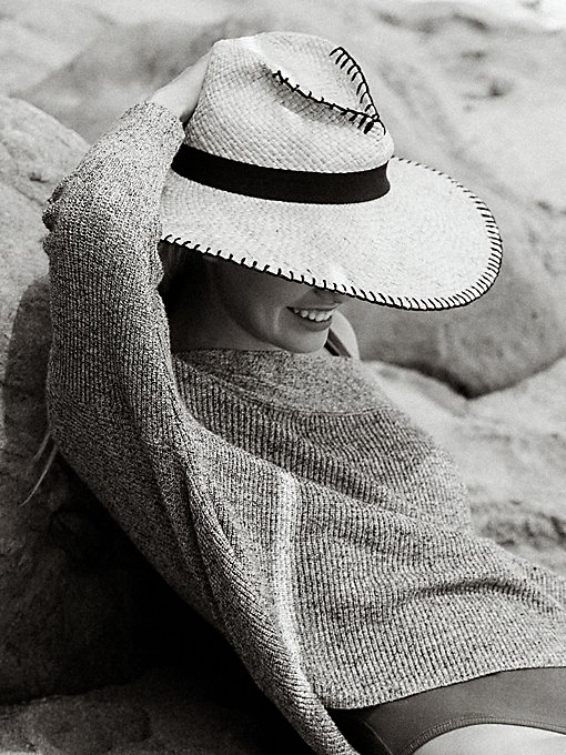 Product Image: Brava Wide Brim Straw Hat