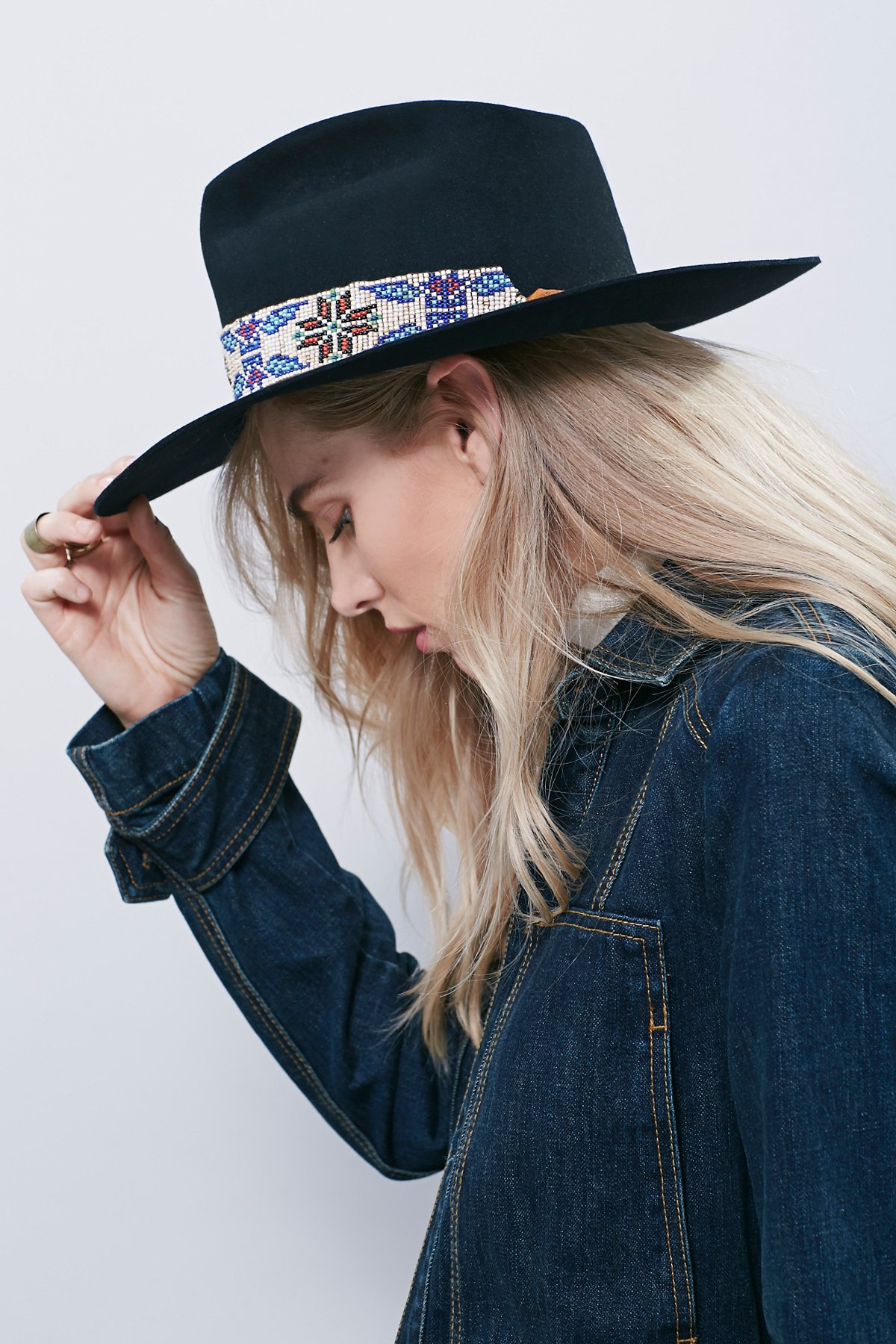 Big Love Exclusive Beaded Band Hat