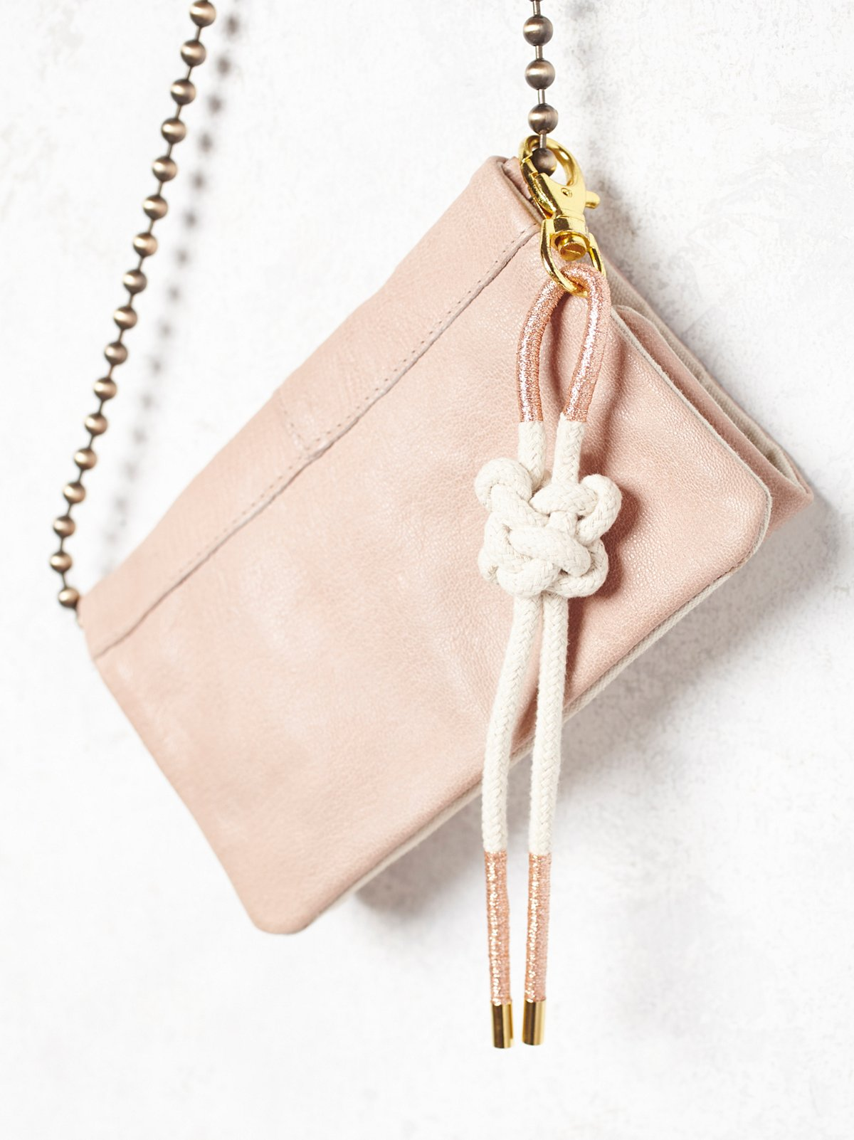 Rope Bag Bolo Keychain