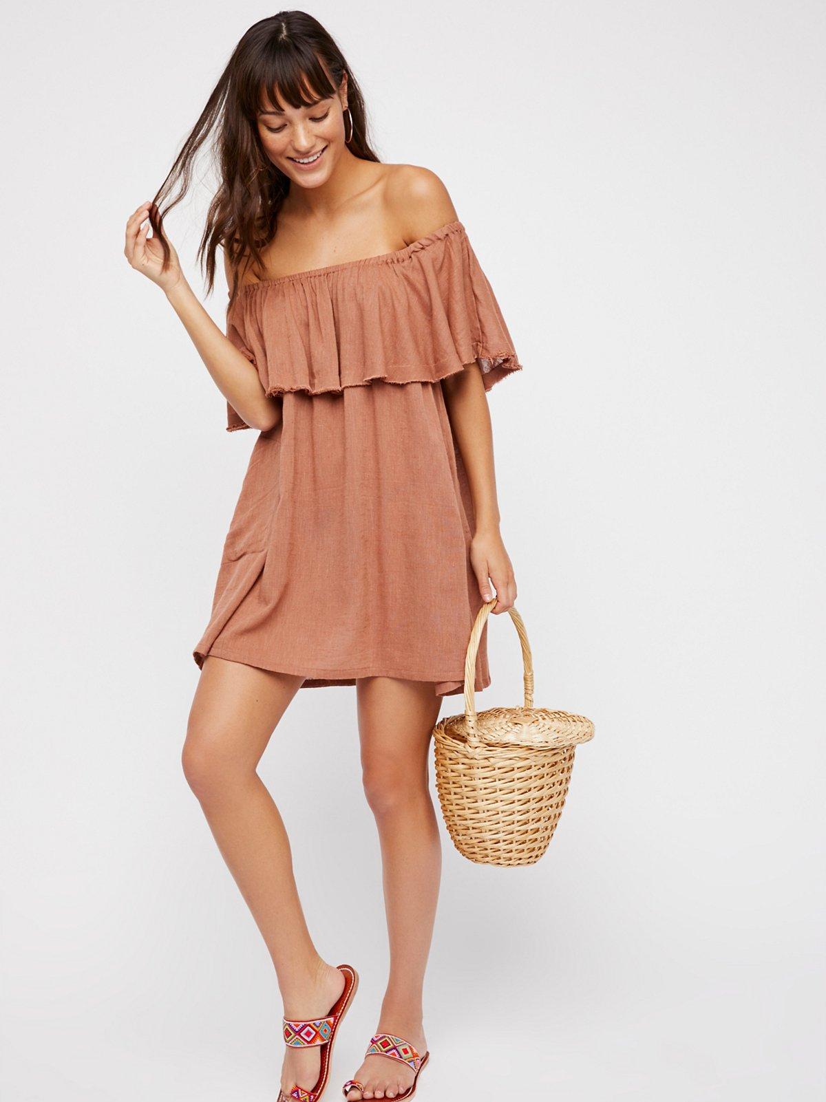 Serefina Off-The-Shoulder Dress