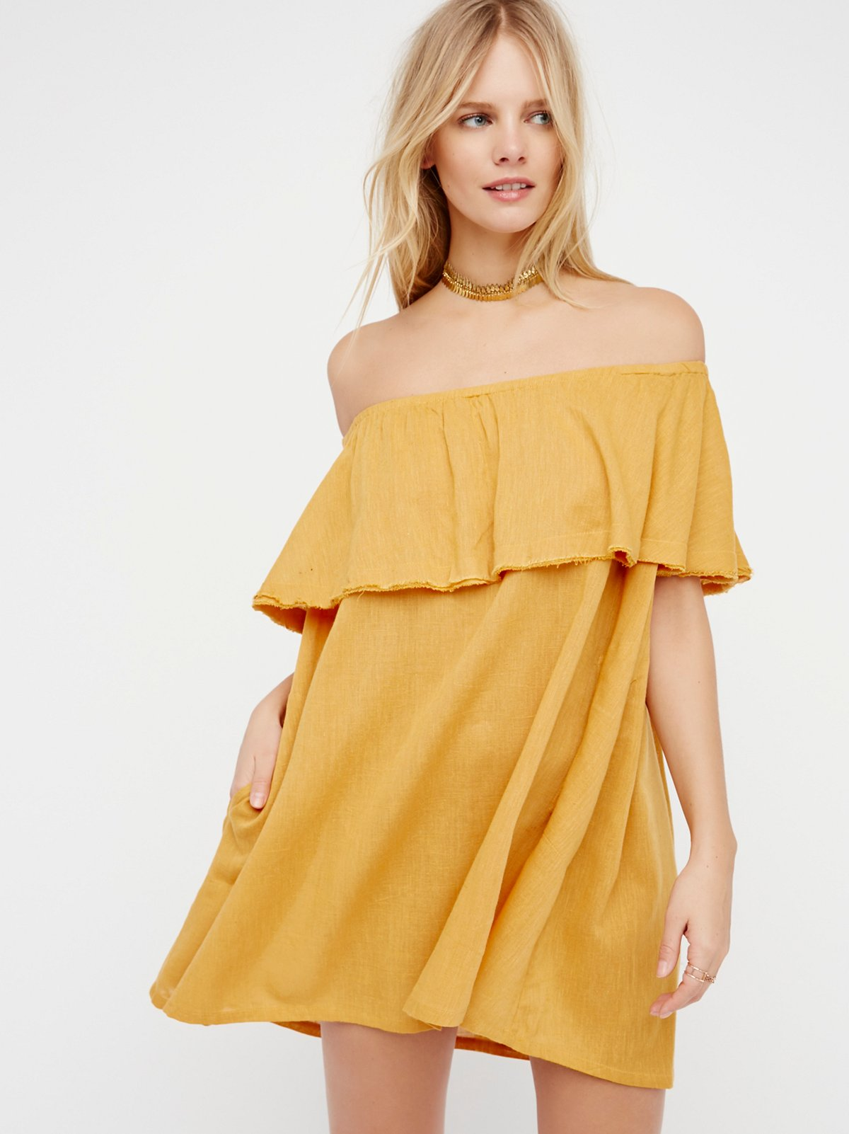 Serefina Off The Shoulder Dress