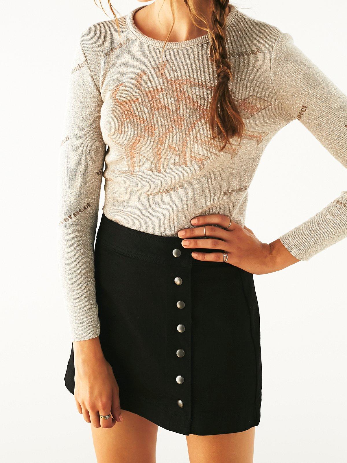 Vintage Metallic England Sweater