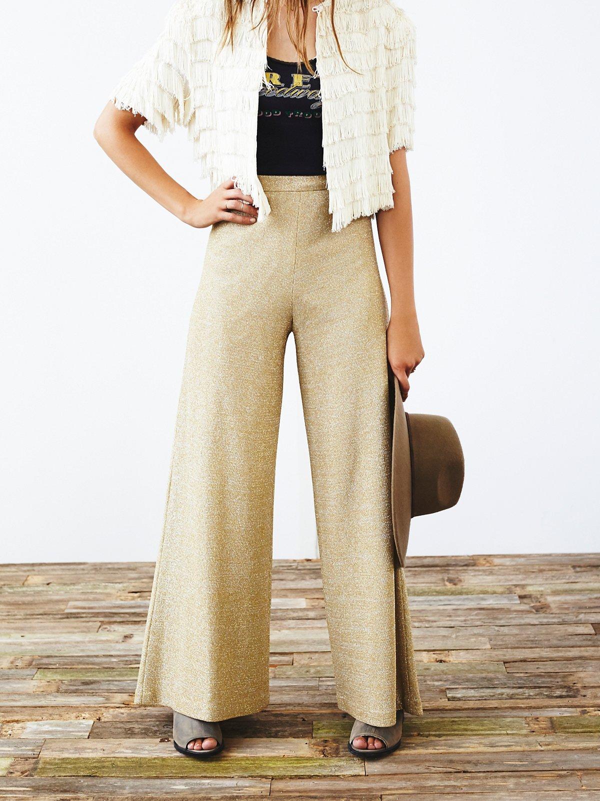 Vintage 1970s Wideleg Pants