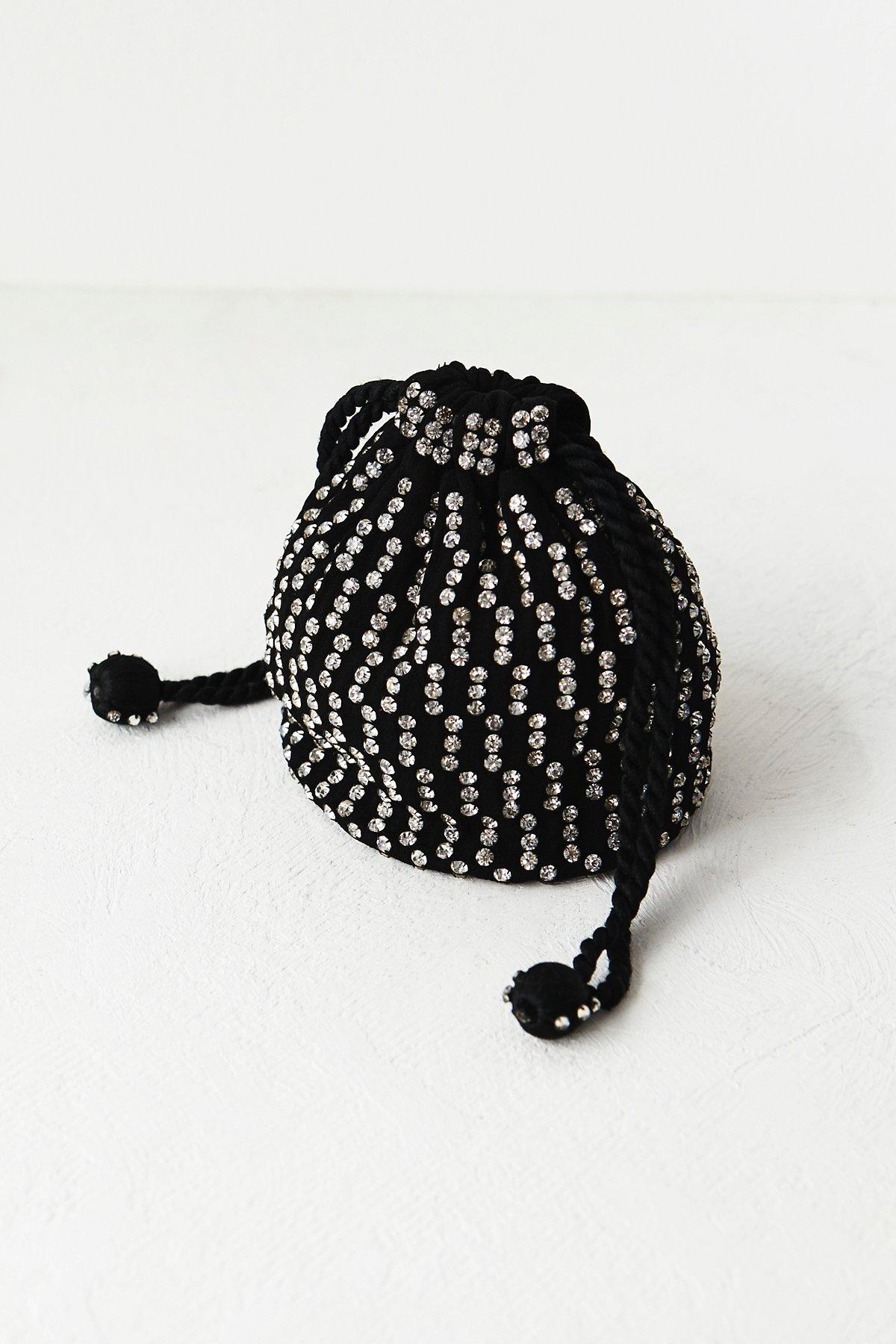 FP Vintage Jeweled Holiday Bag