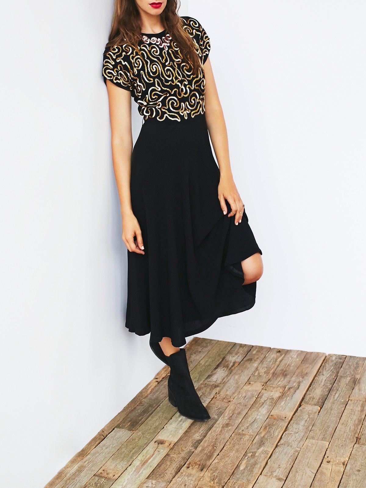 Vintage 1930s Crepe Dress