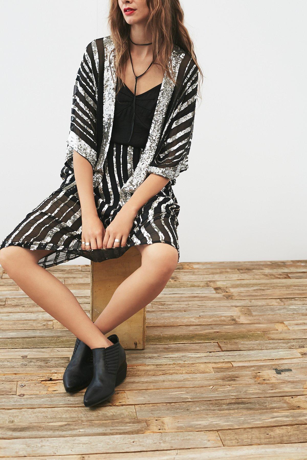 Vintage 1970s Sequin Dress