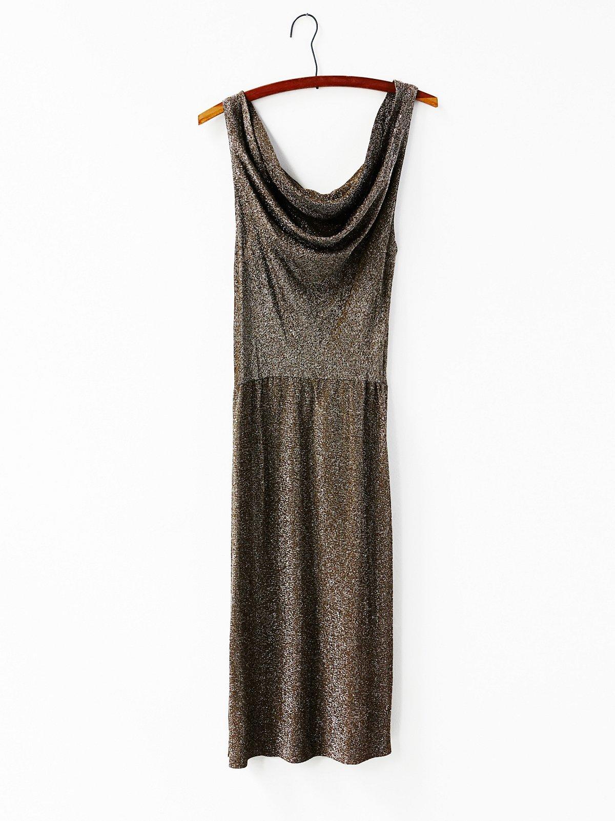 FP Vintage Metallic Dress