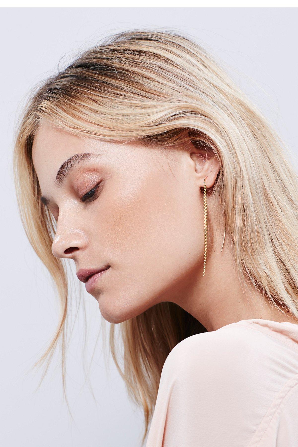 Chain Arc Earring
