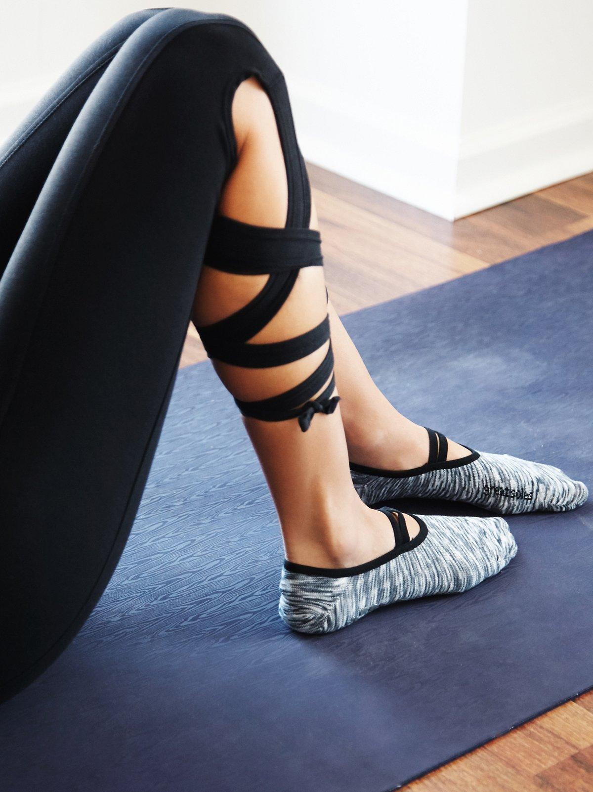 Ballet Barre Yoga Sock