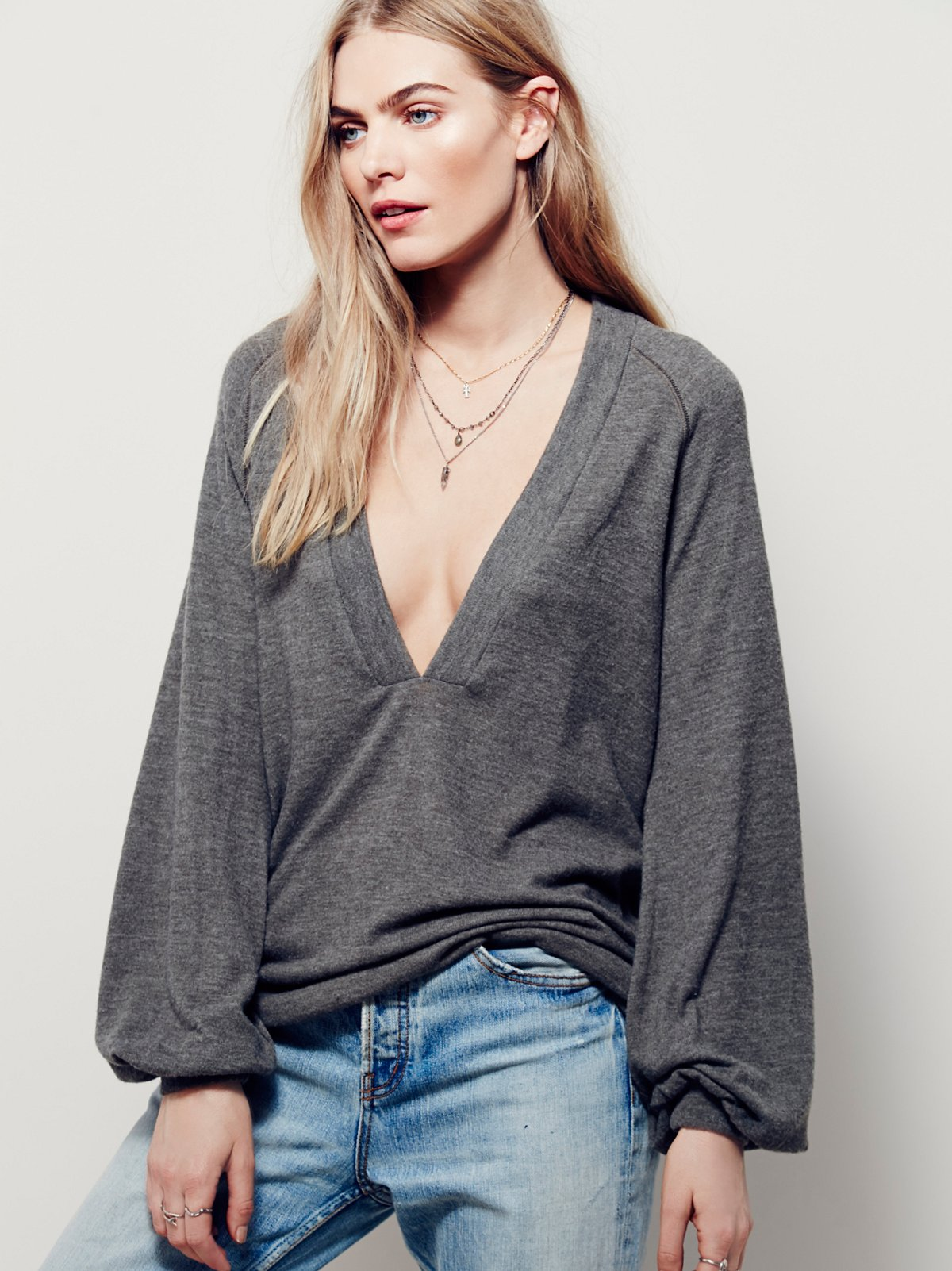 Deep Thoughts Long Sleeve Top