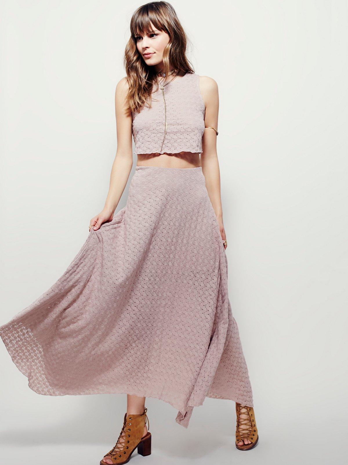 Caroline半身裙套装