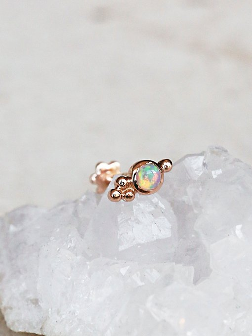 Product Image: Opal Trinity Helix Stud