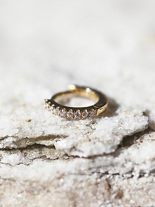 Product Image: Diamond Eternity Helix Earring