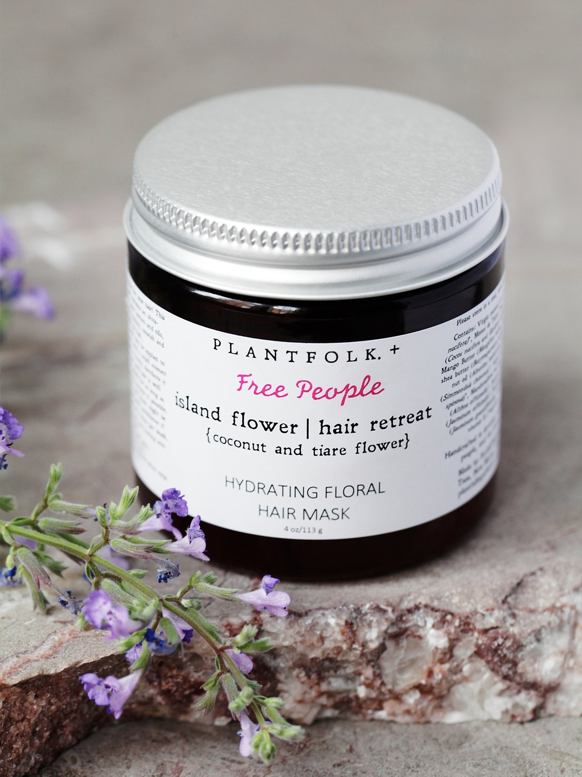 Island Flower Hair Retreat Mask