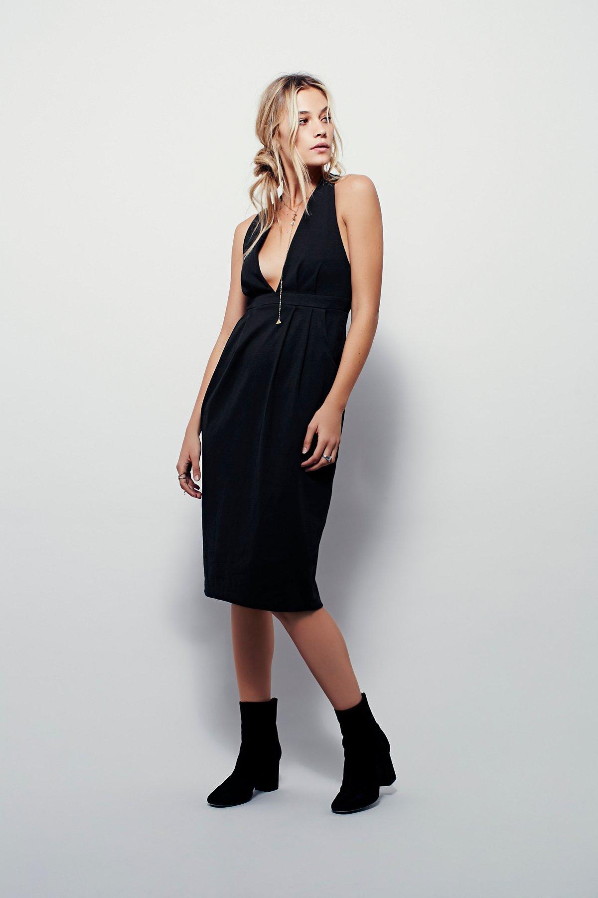Frenchie针织连衣裙