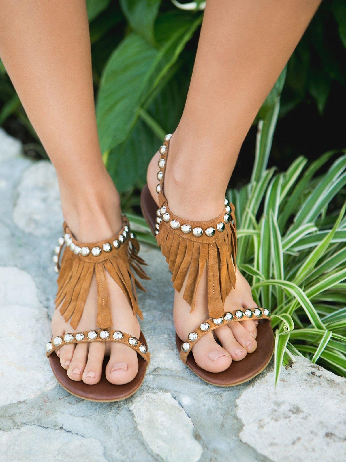 Wink Fringe Sandal