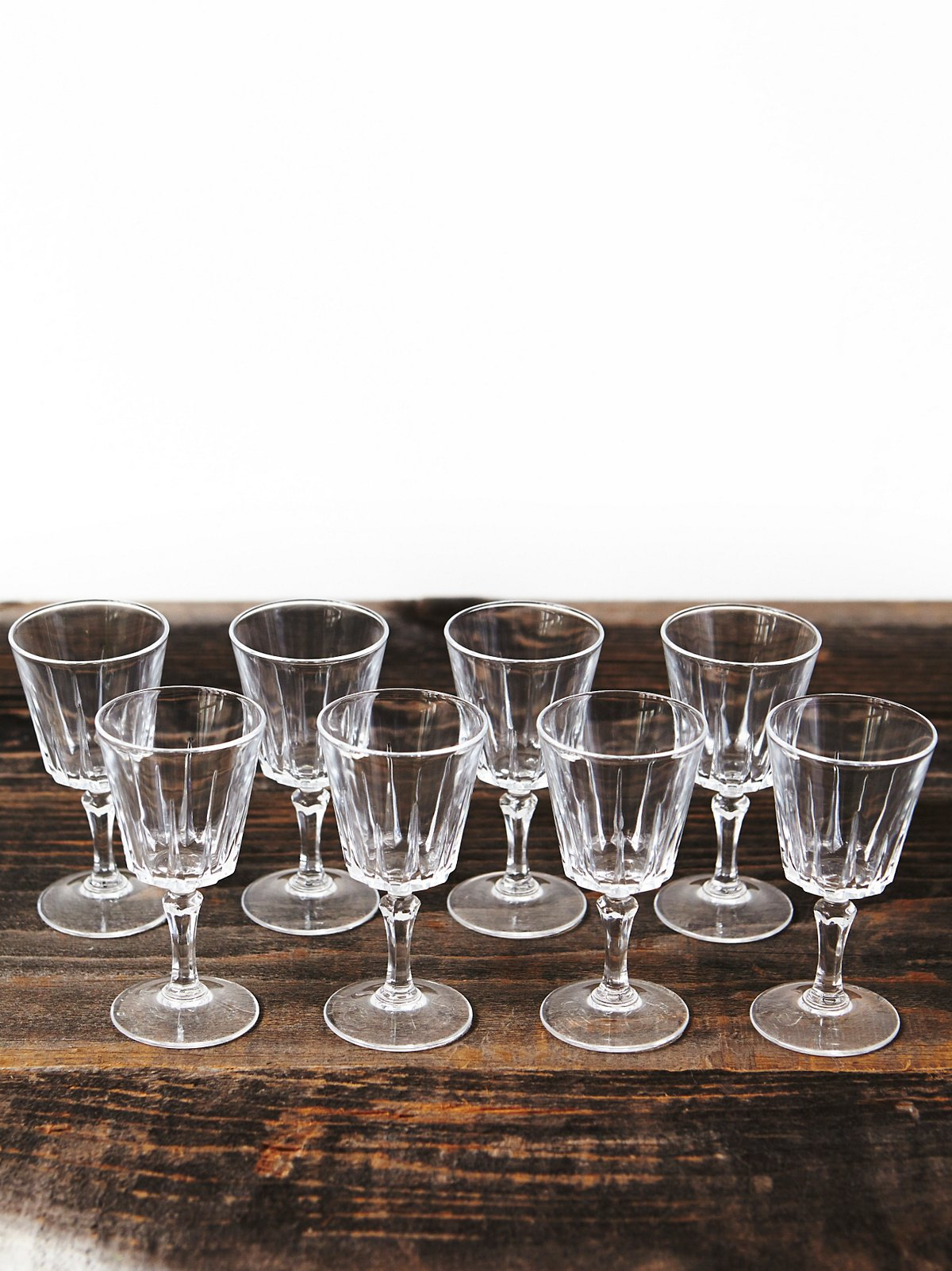 Vintage Mini Cordial Glasses