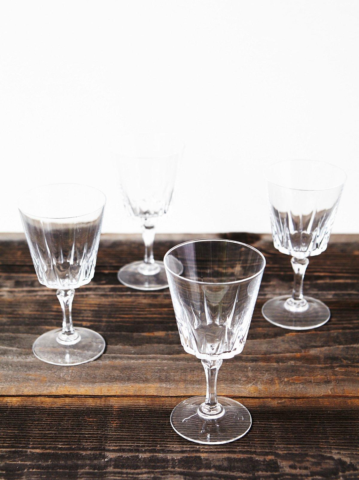 Vintage Cordial Glasses
