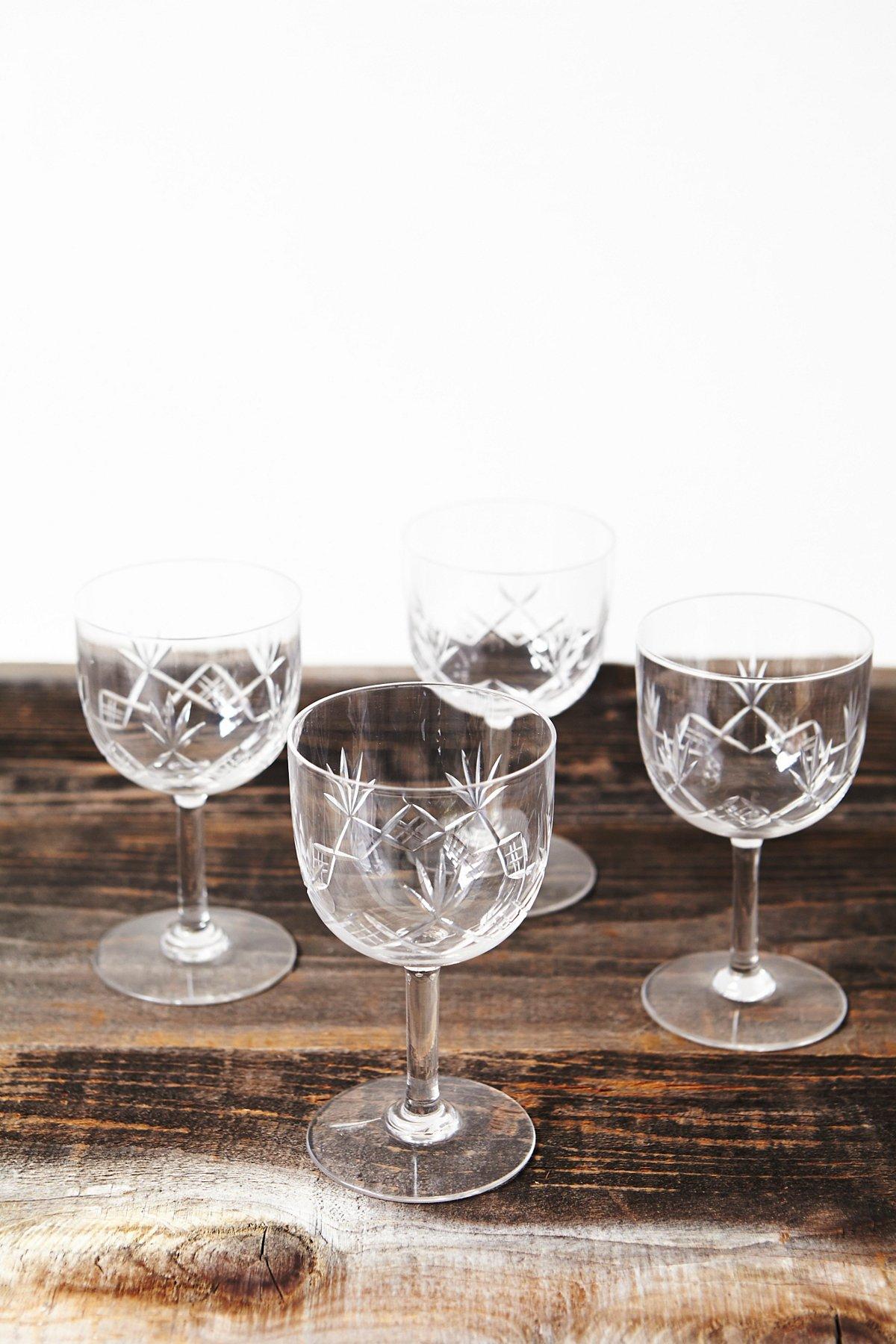 Vintage Chalice Glasses