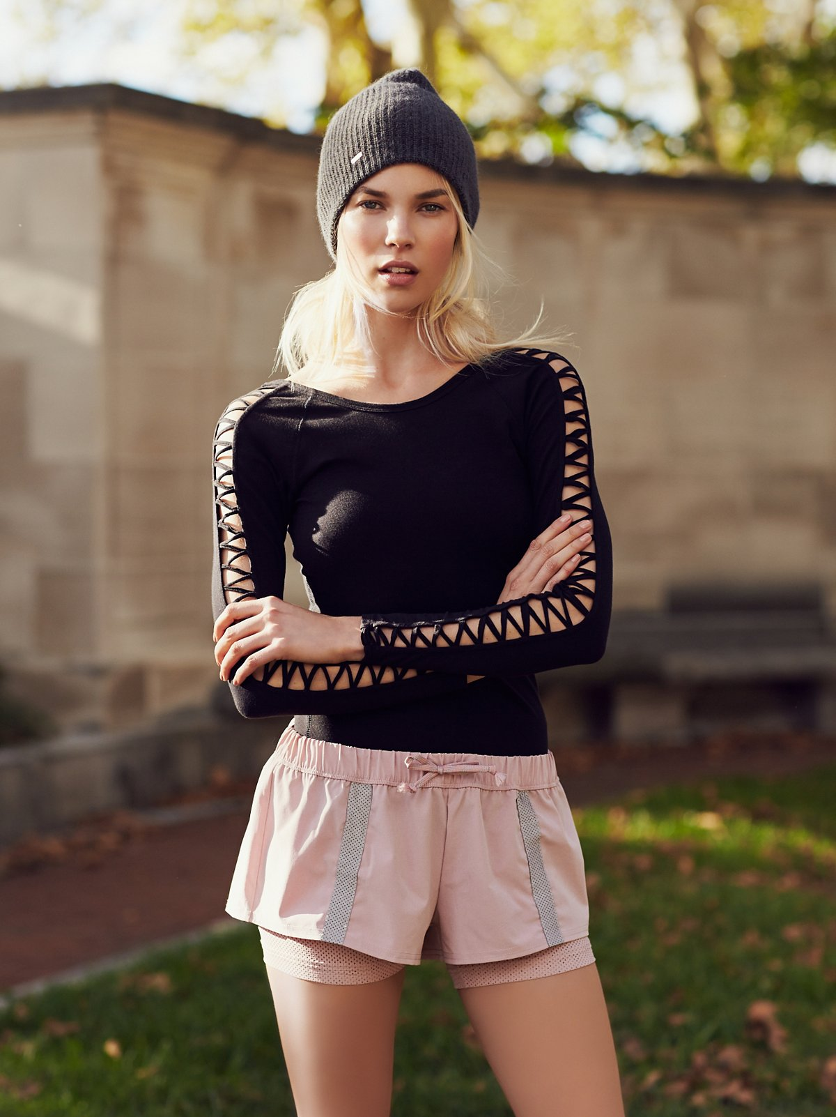 Hot Trot Layered Shorts