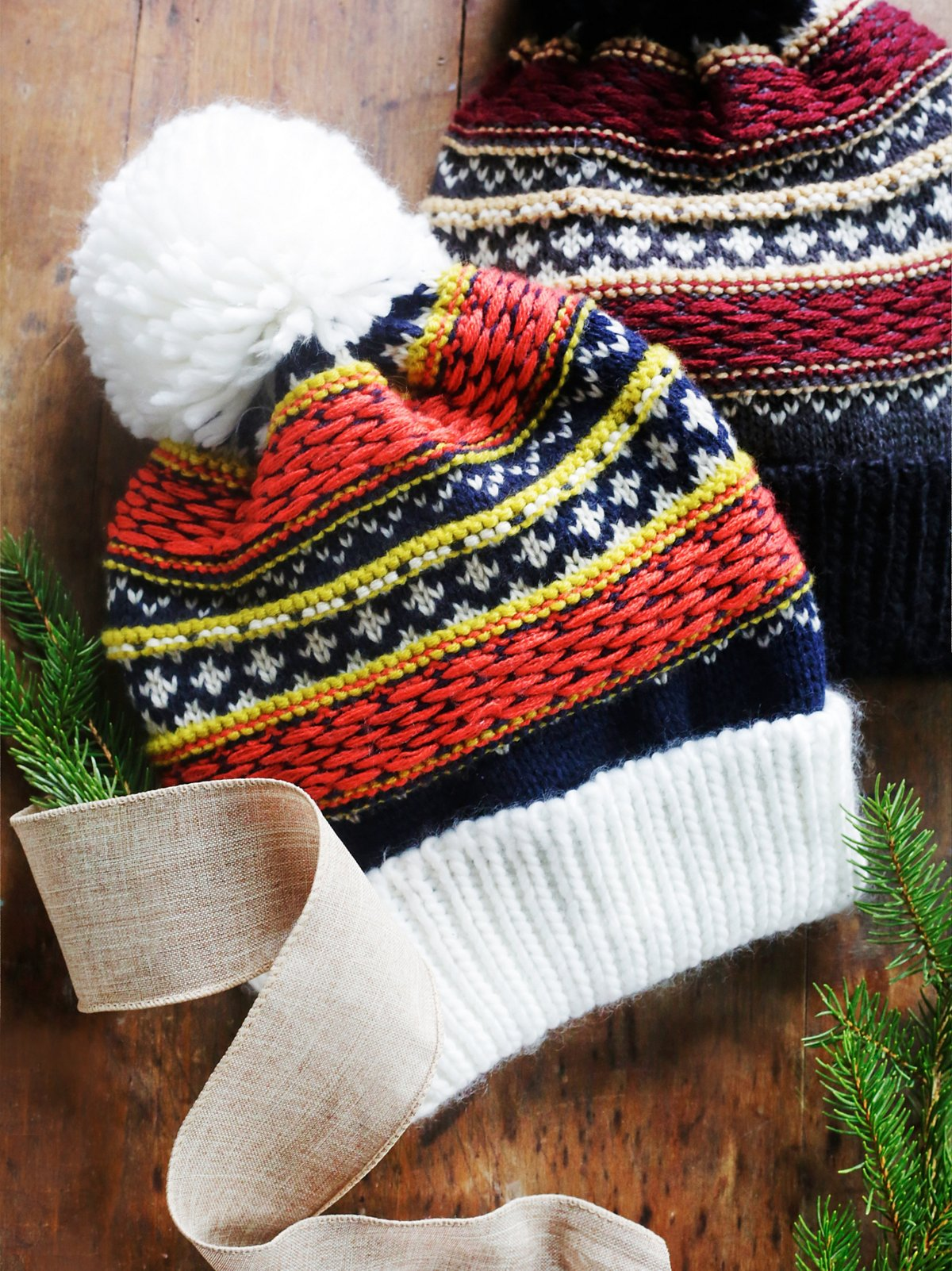 Snowbound Fairisle Beanie