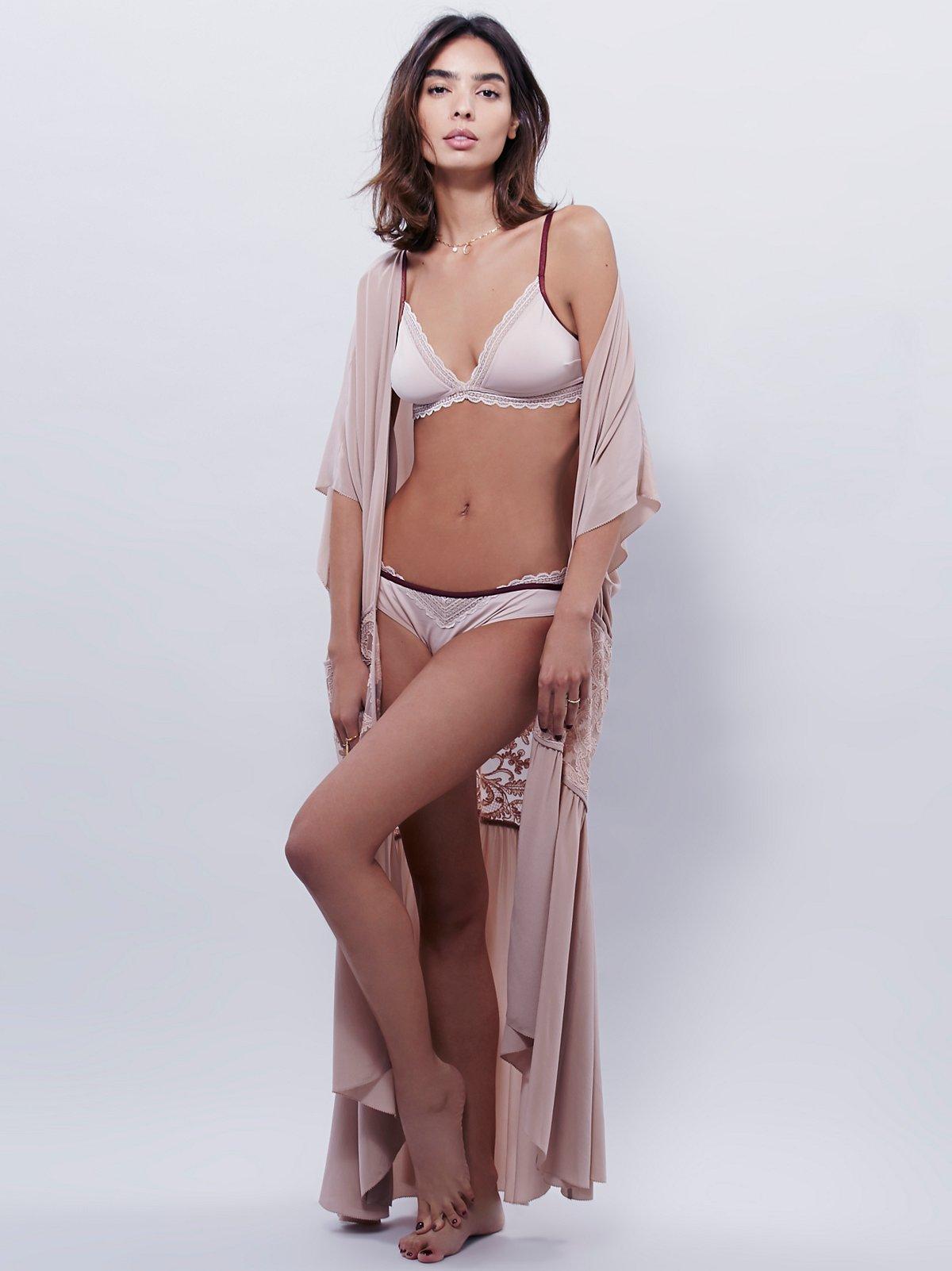 Audrey Silk Robe