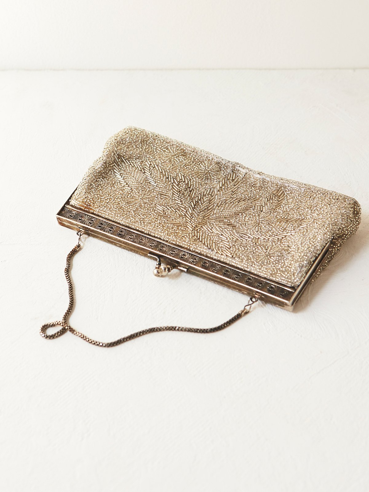 Vintage 1950s Beaded Clutch