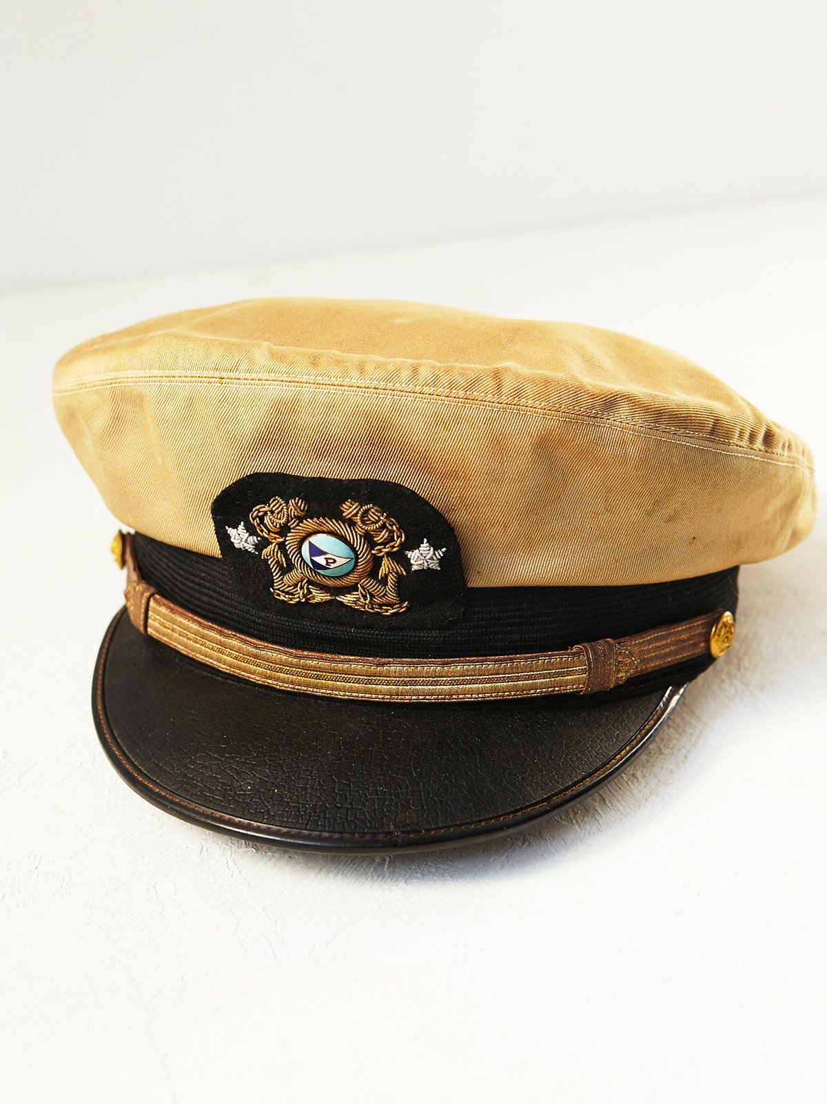 FP Vintage 50s Military Hat