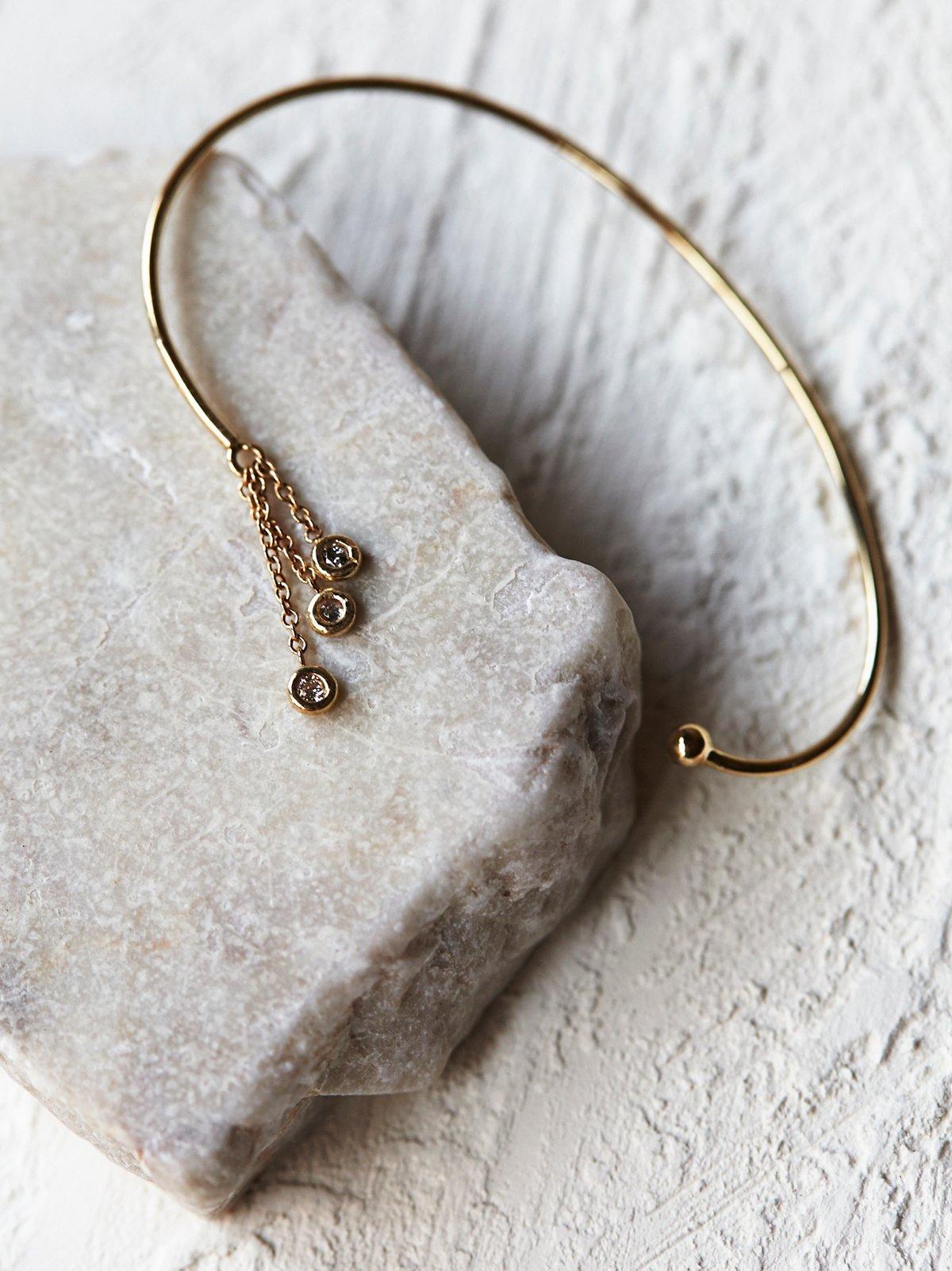 Hanging Diamonds全耳式耳环