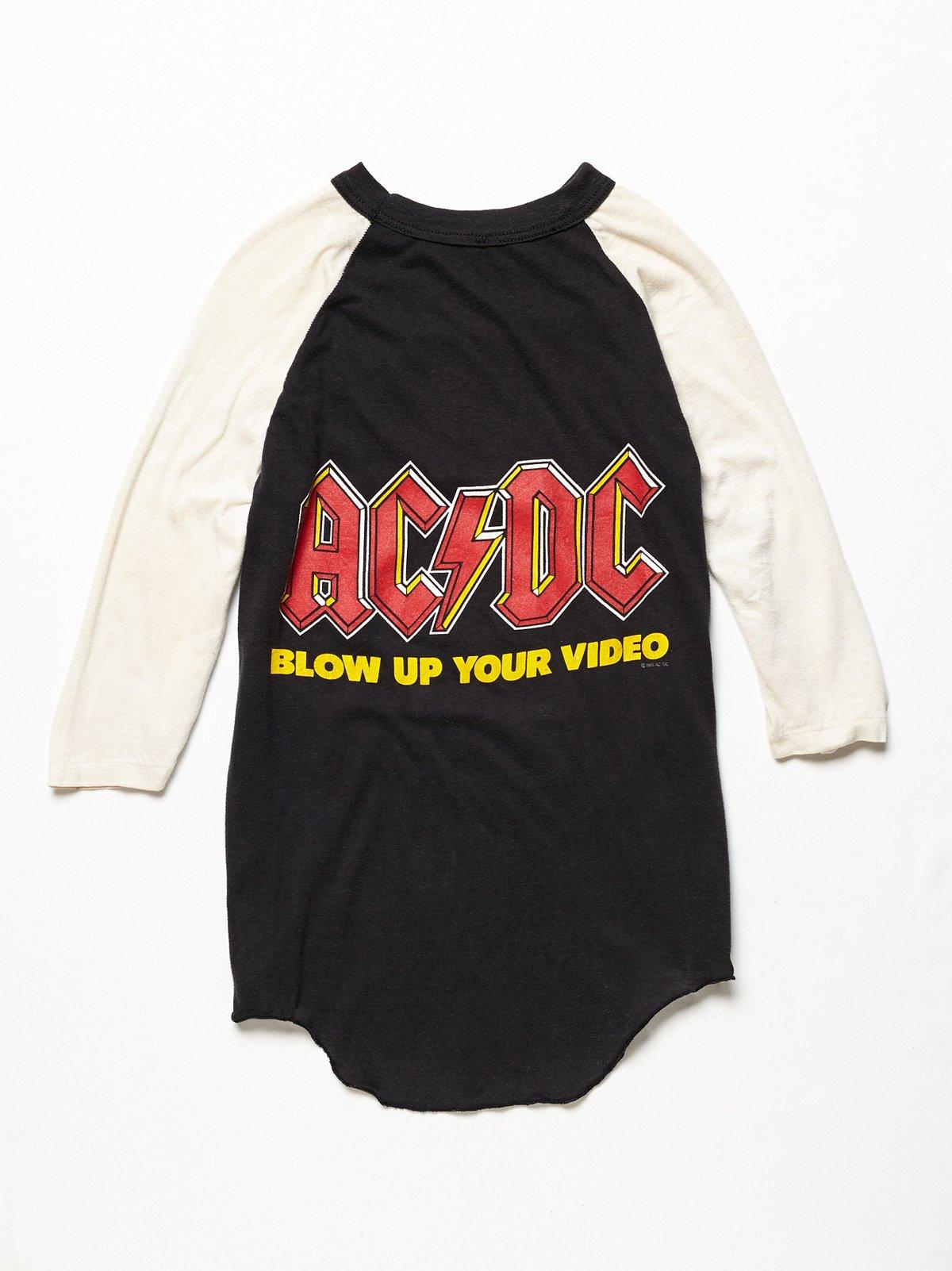 Vintage 1980s AC/DC Tee