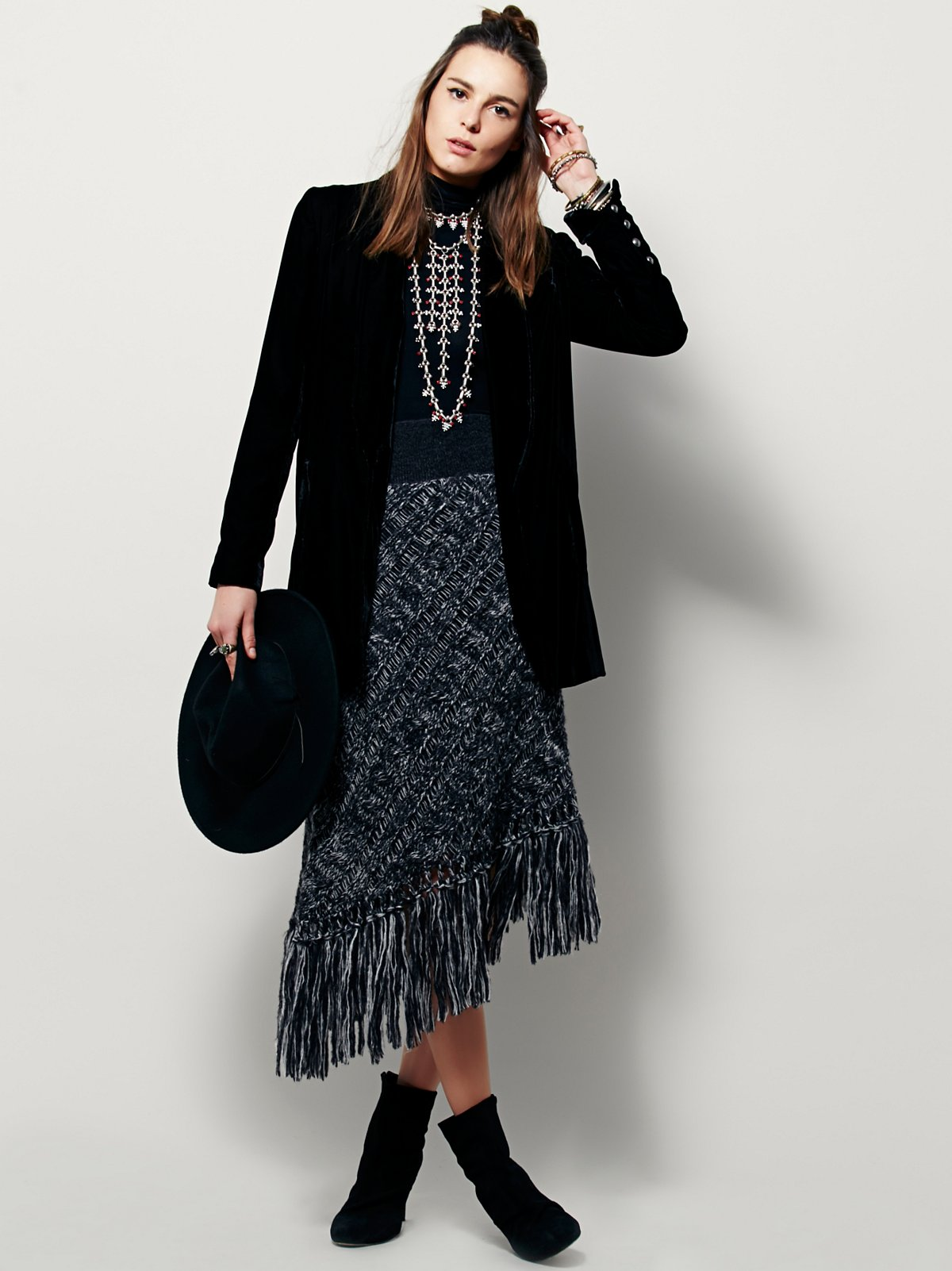 Thunder On The Mountain Sweater Skirt
