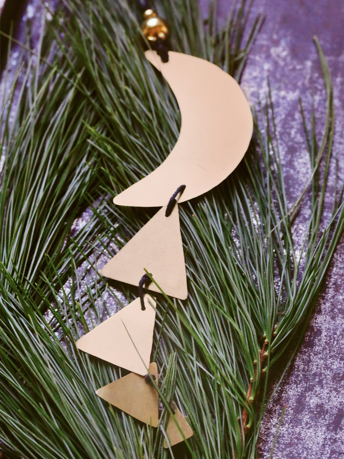 Moon Chime Ornament