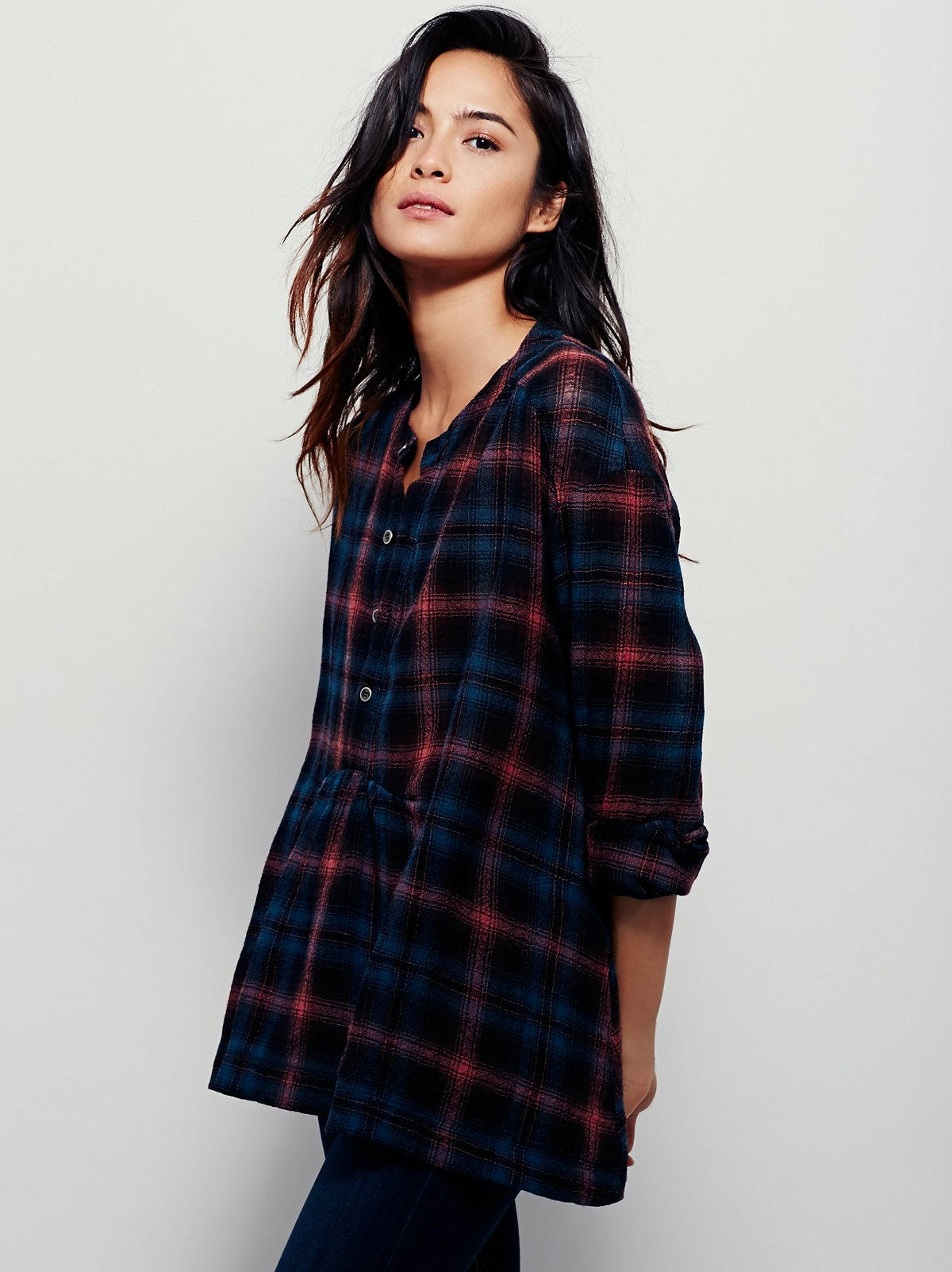 Piper Plaid Buttondown