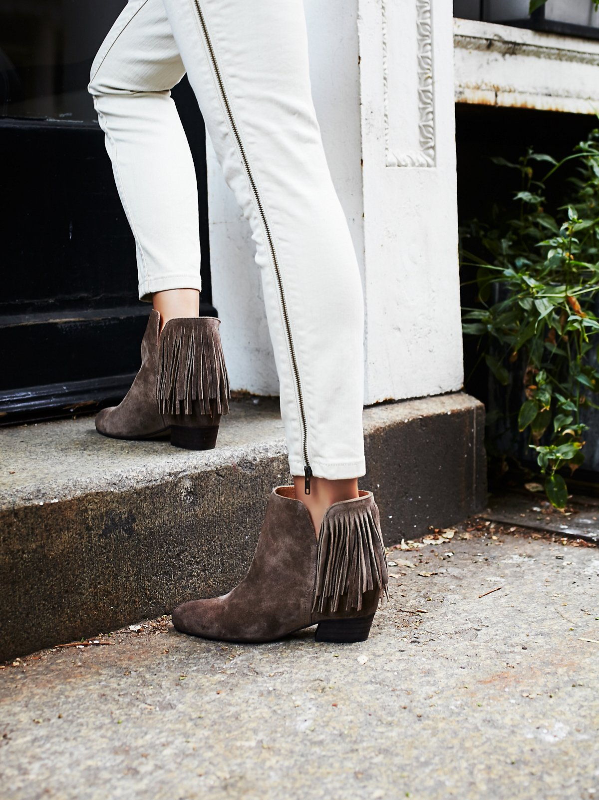 Gallery Fringe Wedge Boot