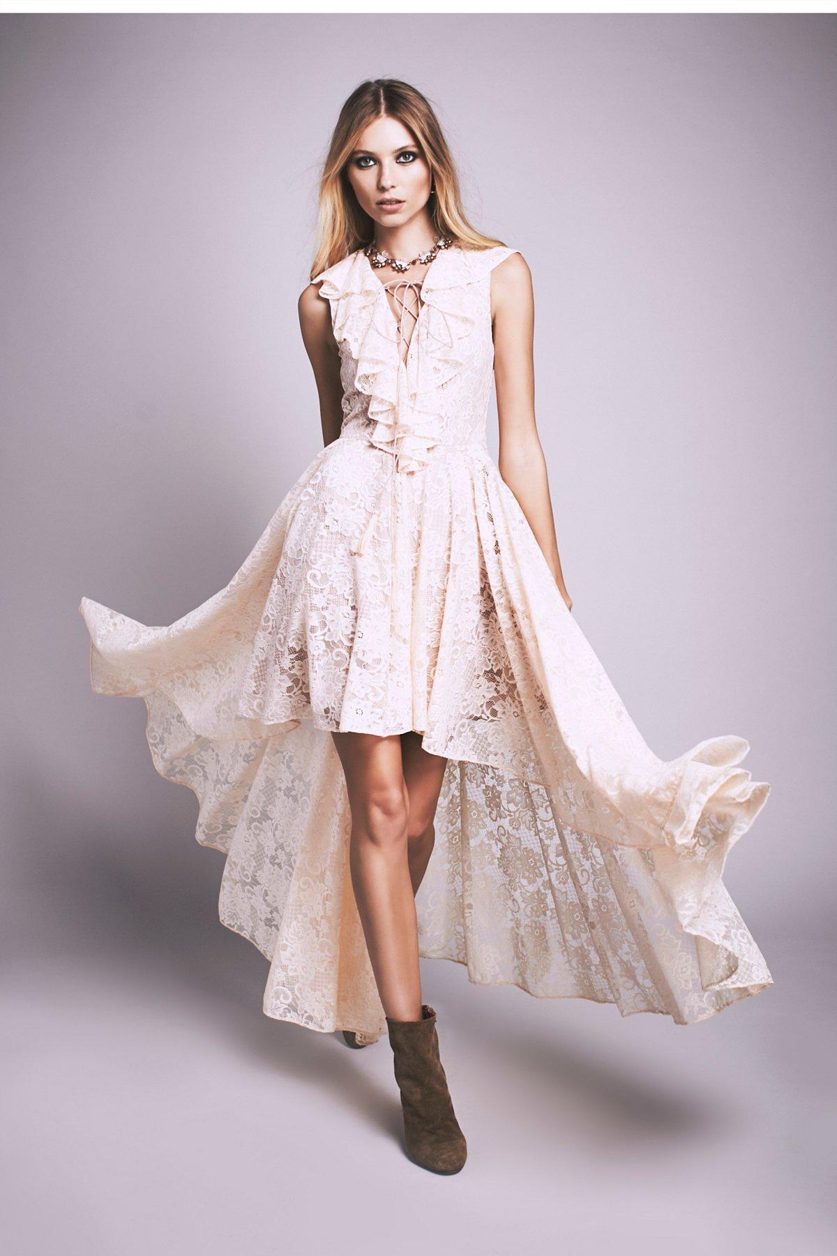 Goddess蕾丝连衣裙