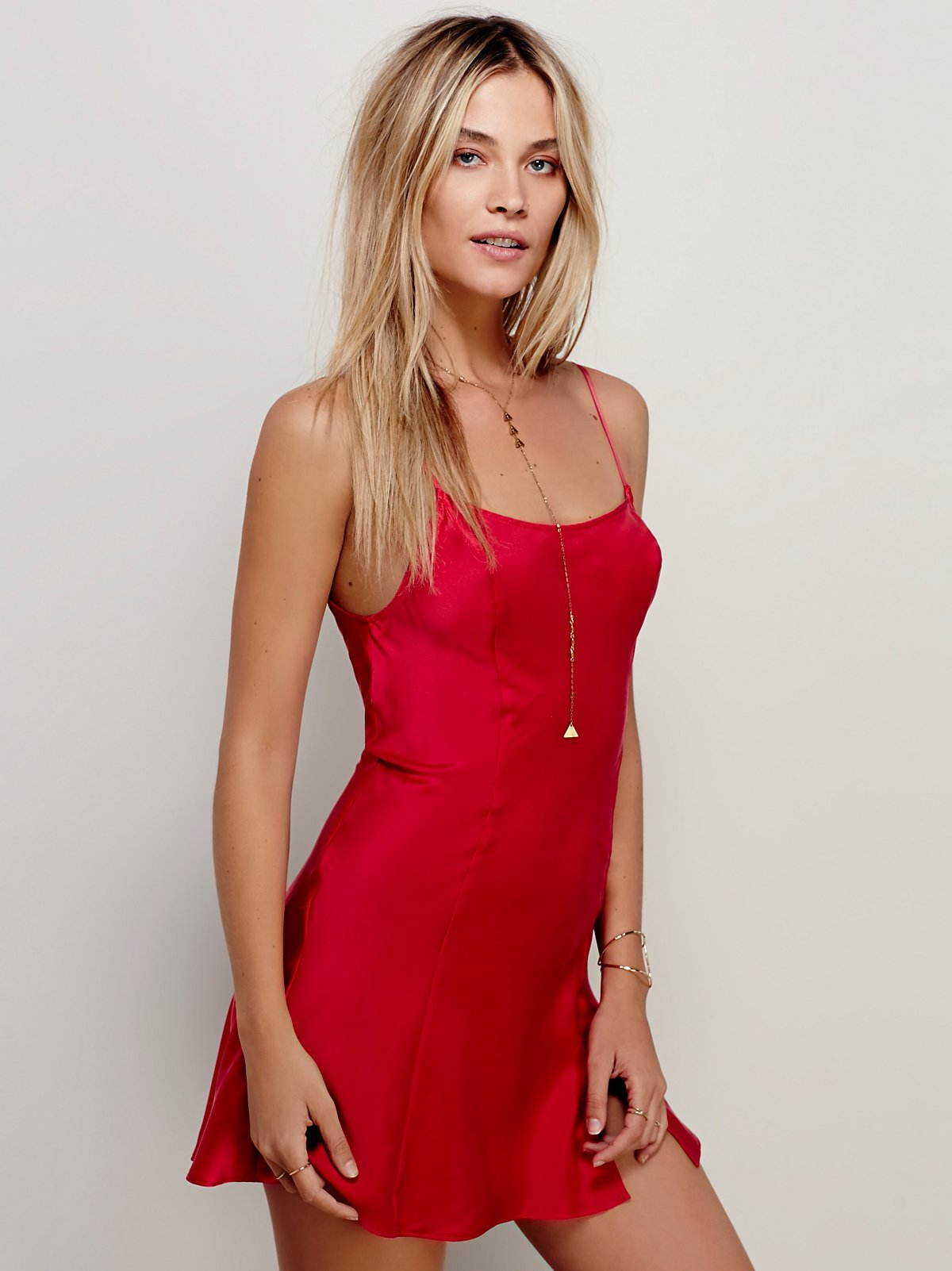 Foxy丝绸衬裙