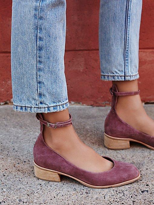 Product Image: Boulevard粗跟平底鞋