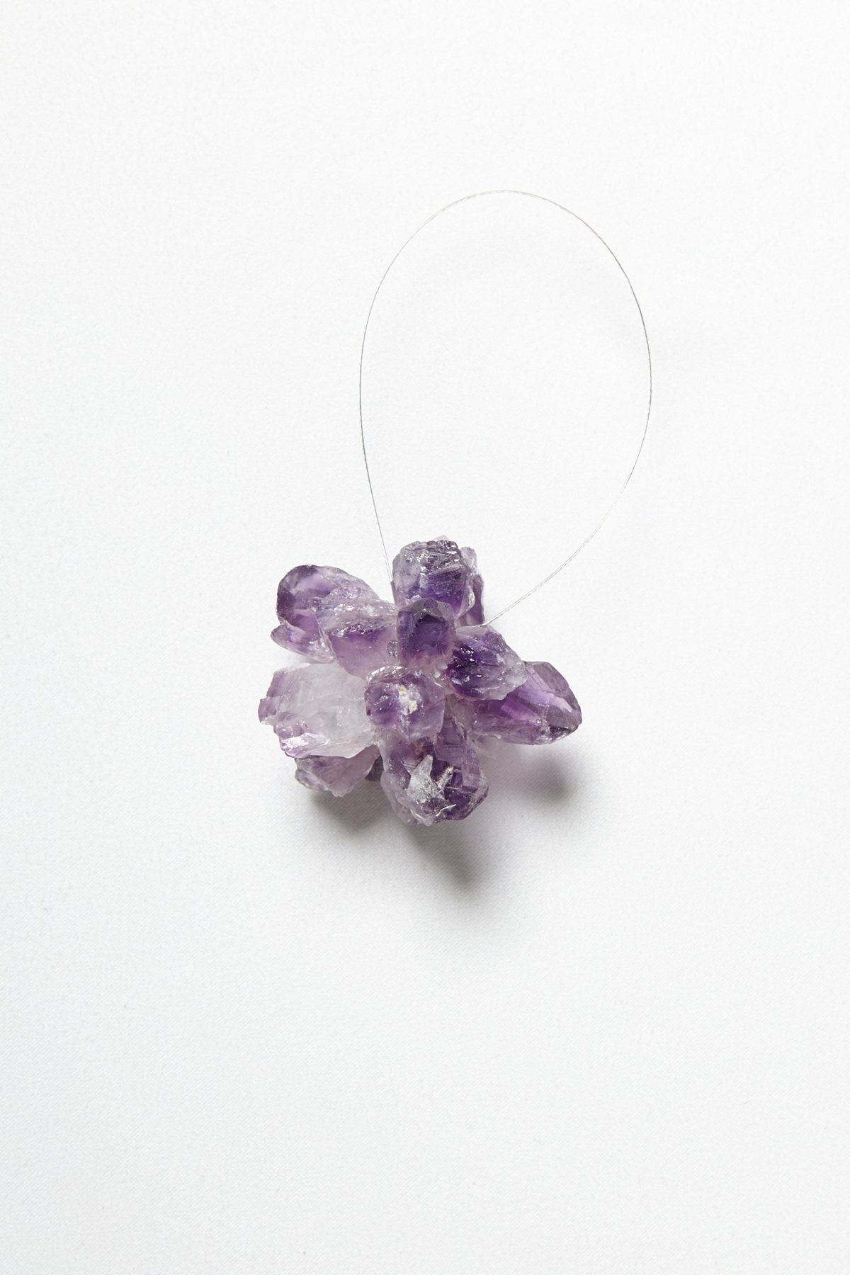 Raw Crystal Snowflake Ornament
