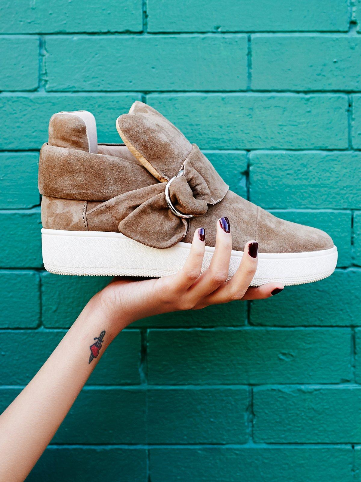 Baseline D形扣环高帮运动鞋
