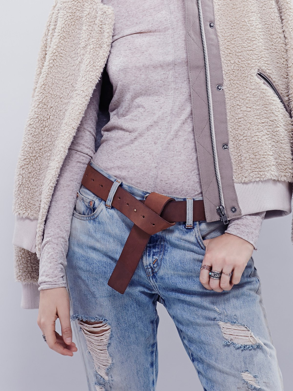 Minimal Peg  Knot Belt