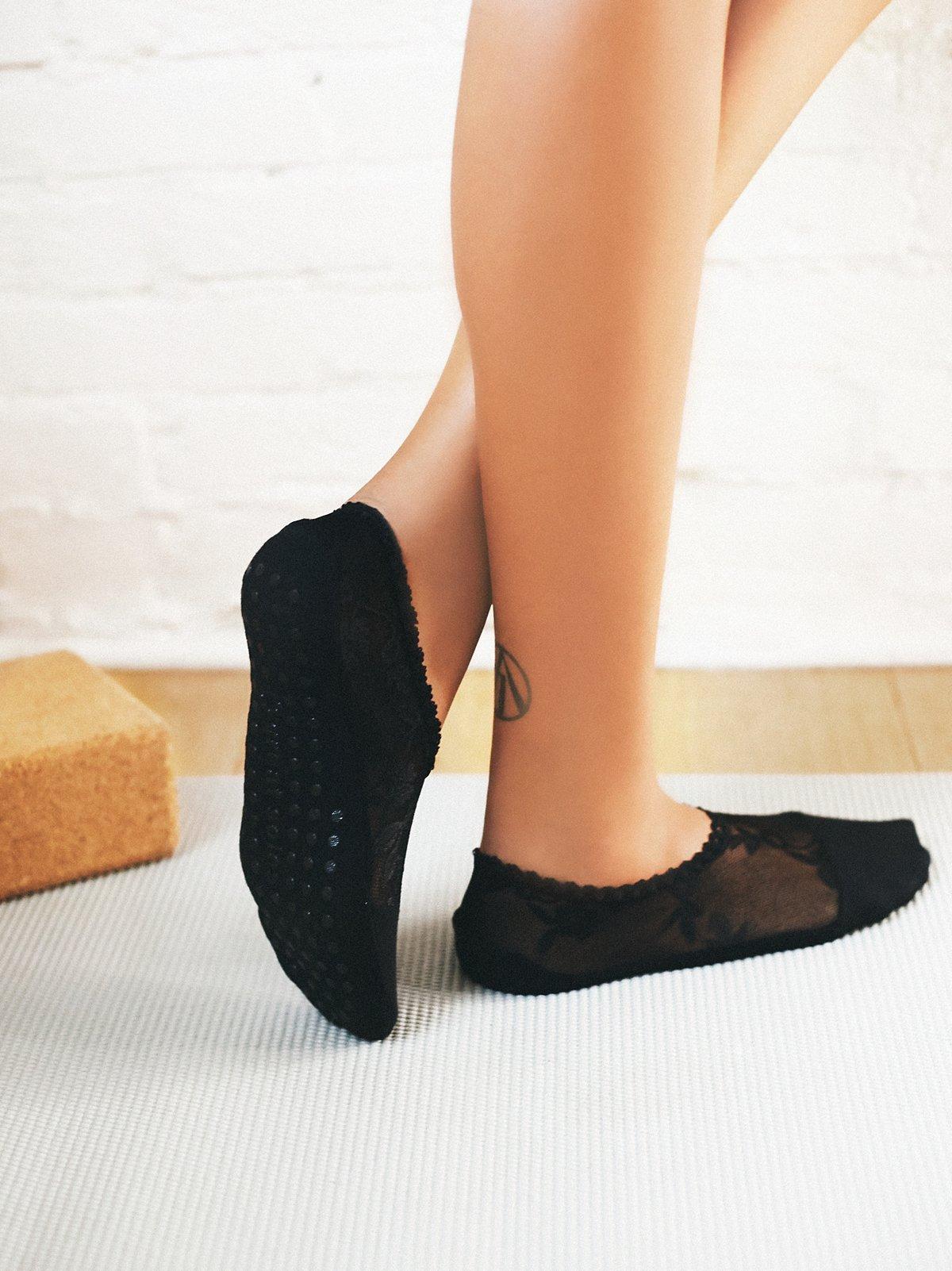 Lace Grip脚板袜