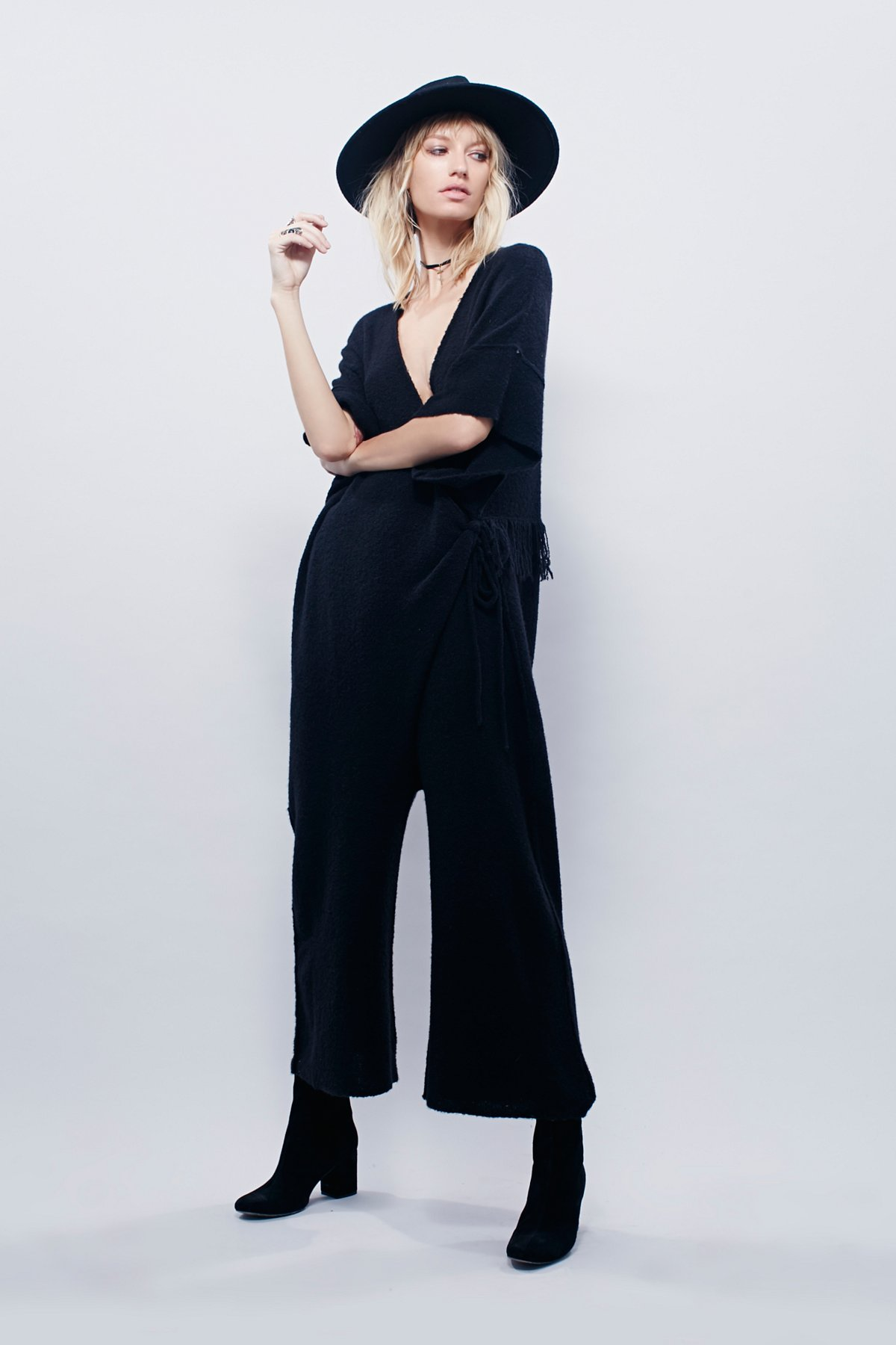 山羊绒Cloud连体短裤