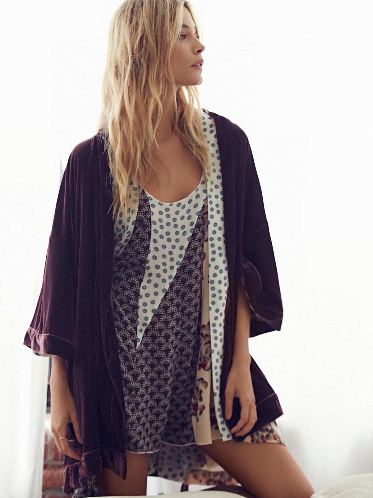 You Fancy Velvet Robe
