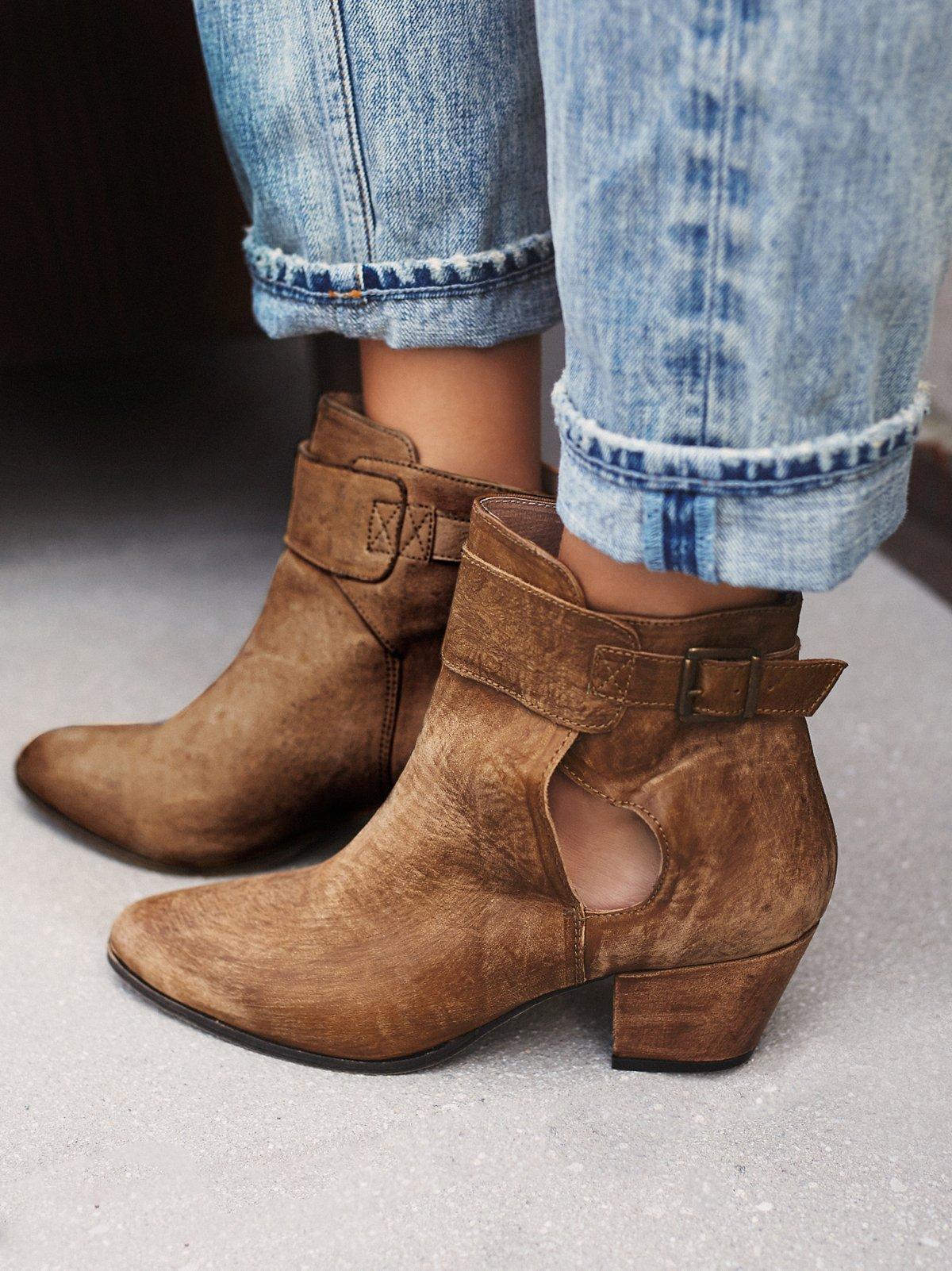 Belleville踝靴