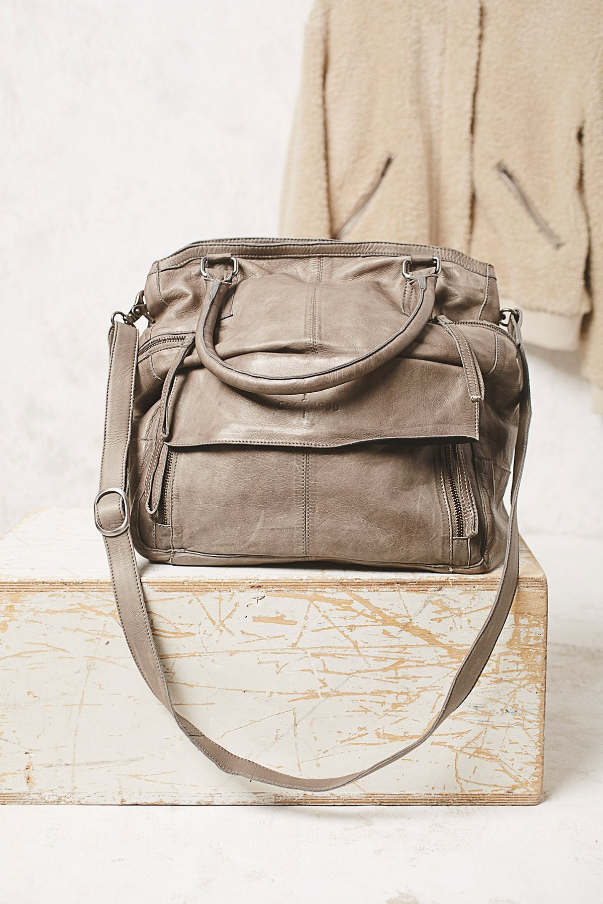 Hannah Washed Leather Bag