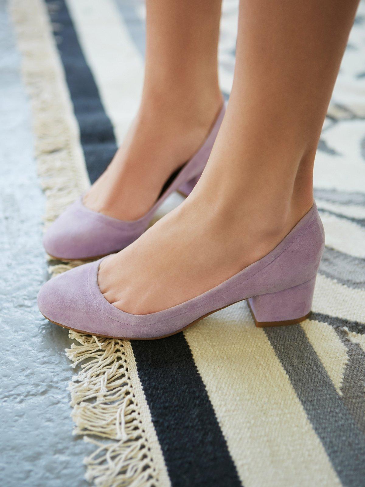Cyndi粗跟高跟鞋