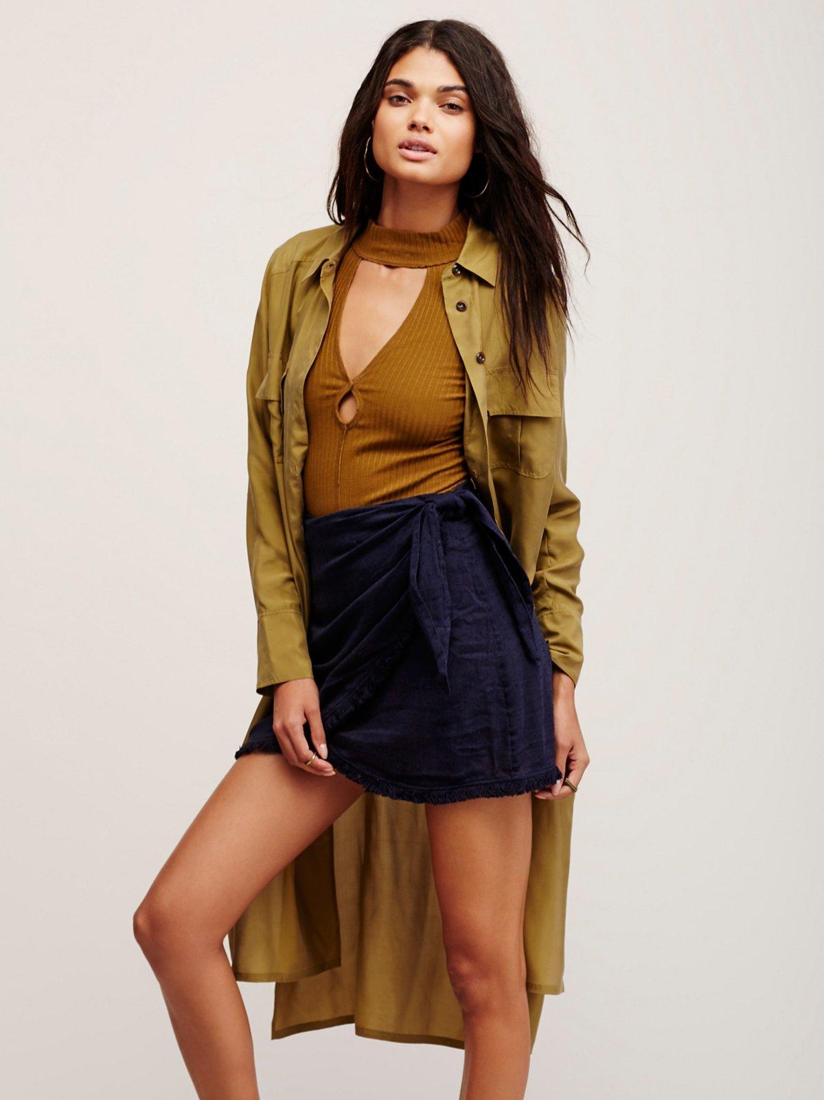 Sydnie Wrap Skirt
