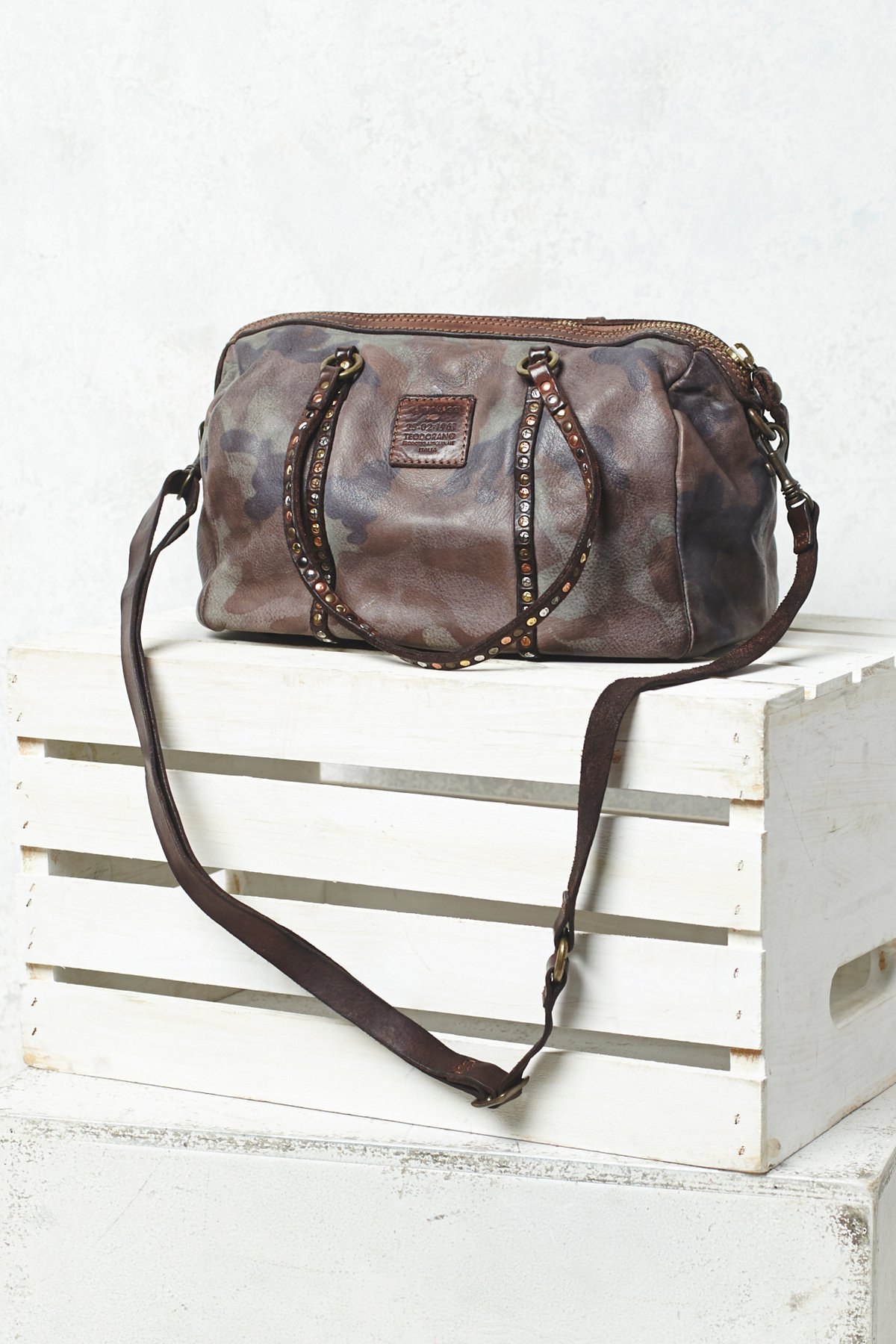 Bauletto Distressed Bag